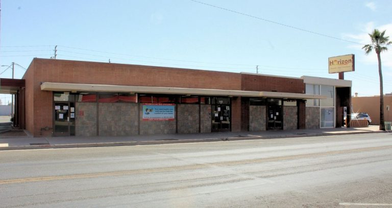 The front side of the Casa Grande Clinic building located at 115 W 2nd St, Casa Grande, AZ 85122.