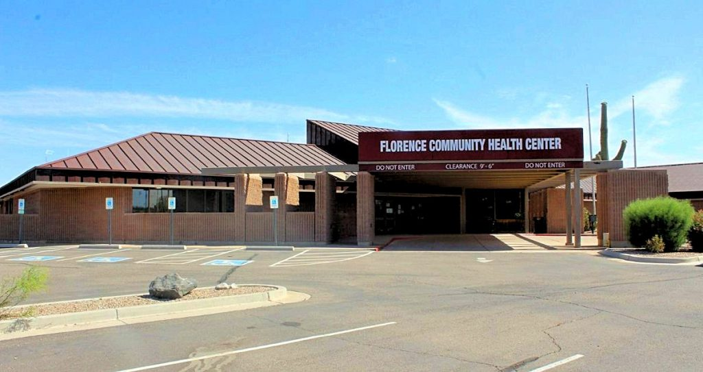 The front side of the Horizon Health and Wellness clinic in Florence, Arizona.