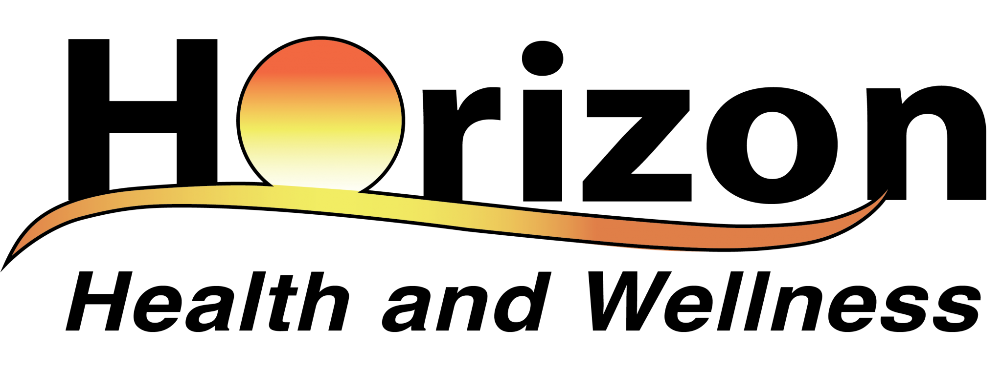 The PNG file Horizon Health and Wellness color logo.