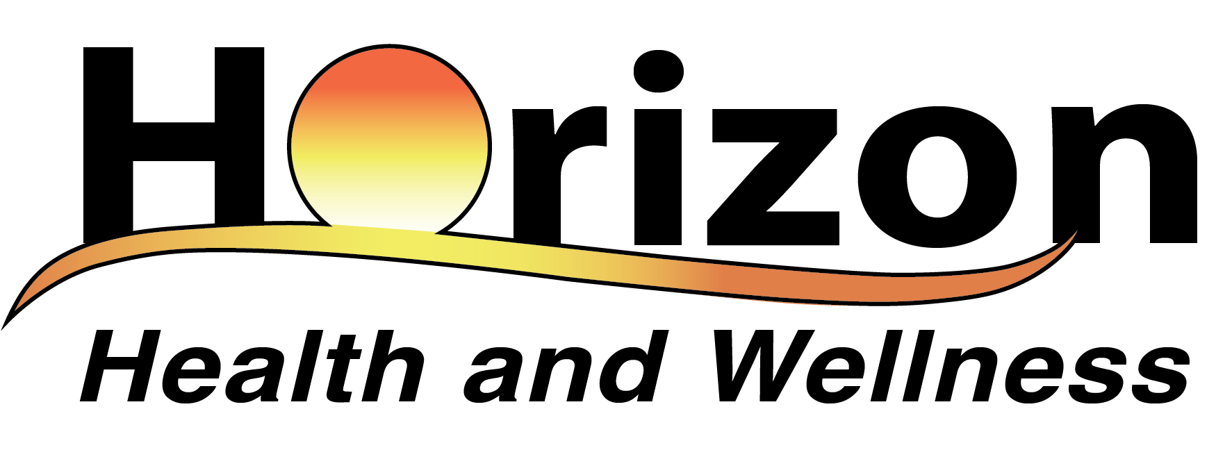 The JPG file of the Horizon Health and Wellness color logo.